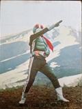 仮面ライダーカード 195番 ラッキーカード SR