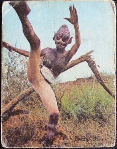 仮面ライダーカード 10番 怪鳥怪人ゲバコンドル 旧明朝版 裏25局