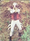仮面ライダーカード 23番 催眠怪人ムカデラス 裏25局 旧ゴシック版