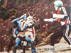 仮面ライダーカード 238番 シオマネキング対ライダー SR14版