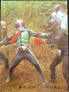 仮面ライダーカード 52番 仮面ライダー 裏25局 旧ゴシック版