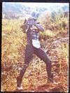 仮面ライダーカード 14番 悪魔のレスラー ピラザウルス 旧ゴシック版 裏25局