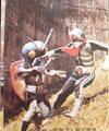仮面ライダーカード 212番 ギラーコオロギのしめい KR8