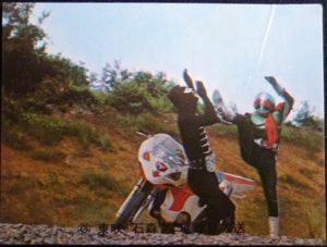 仮面ライダーカード 228番 サイクロンのひみつ KR13版